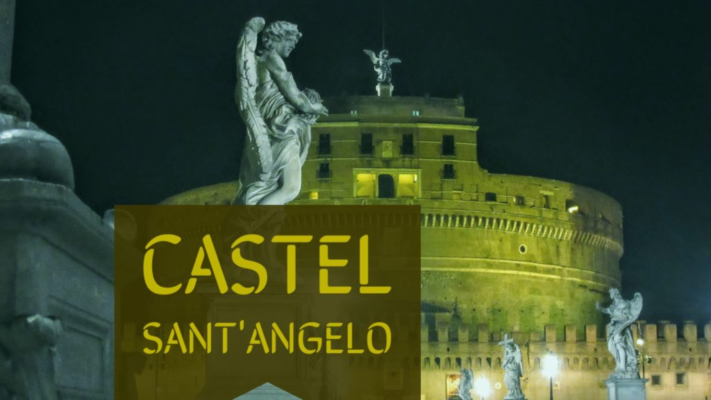 Castel Sant Angelo at Night - Dolce & Masala